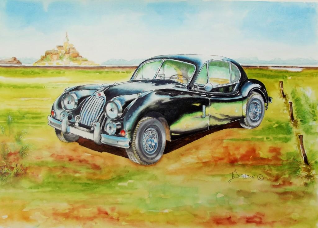 l952 Jaguar XK 140