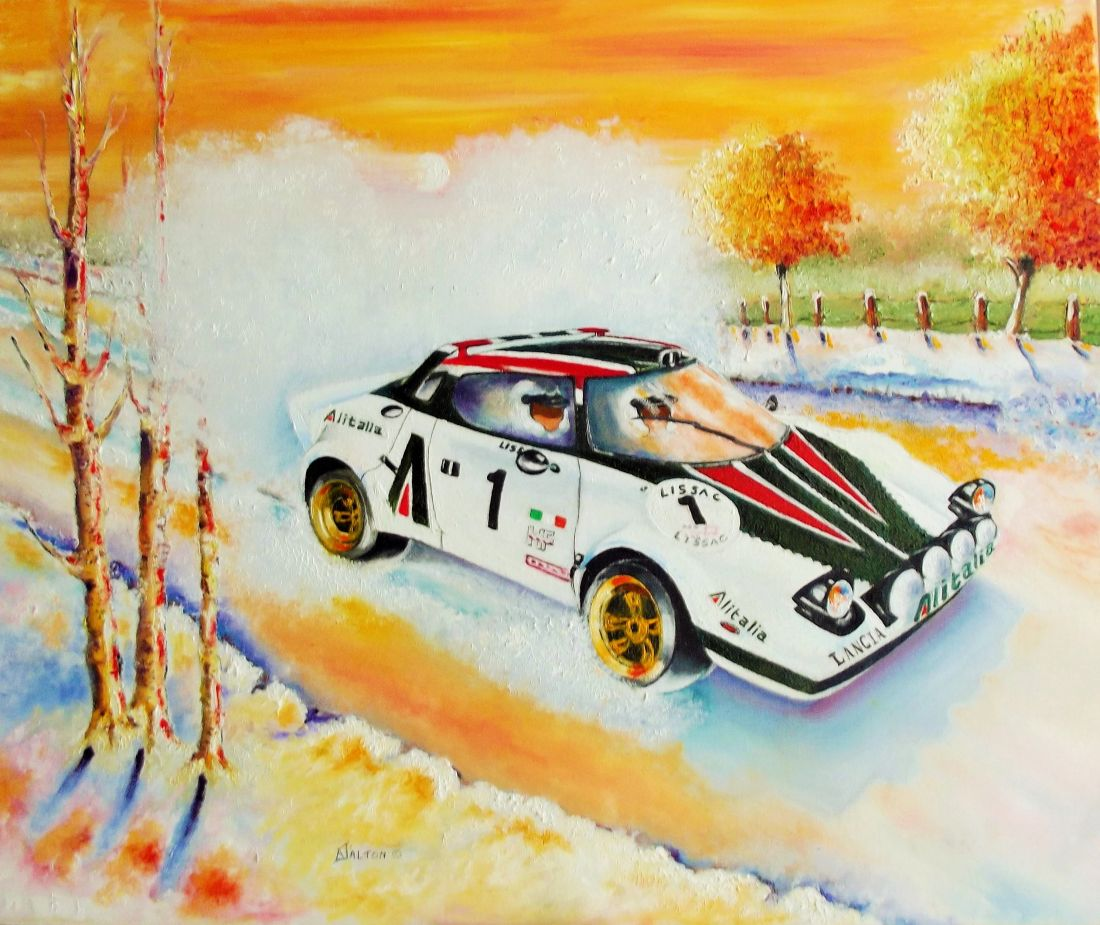 Lancia Stratos finished